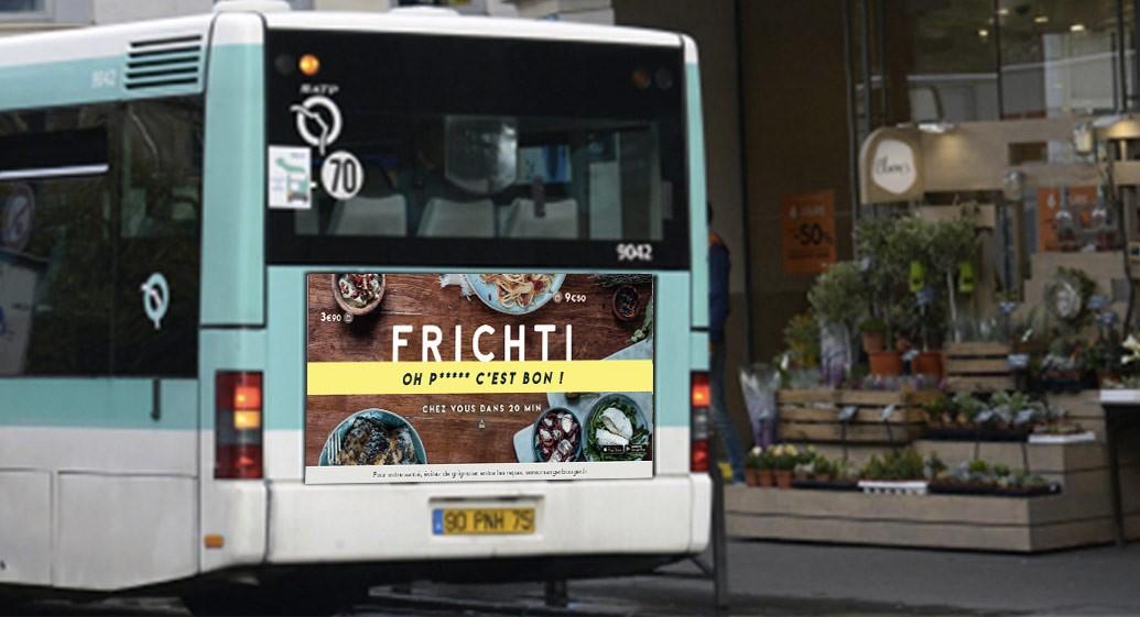 affiche frichti bus