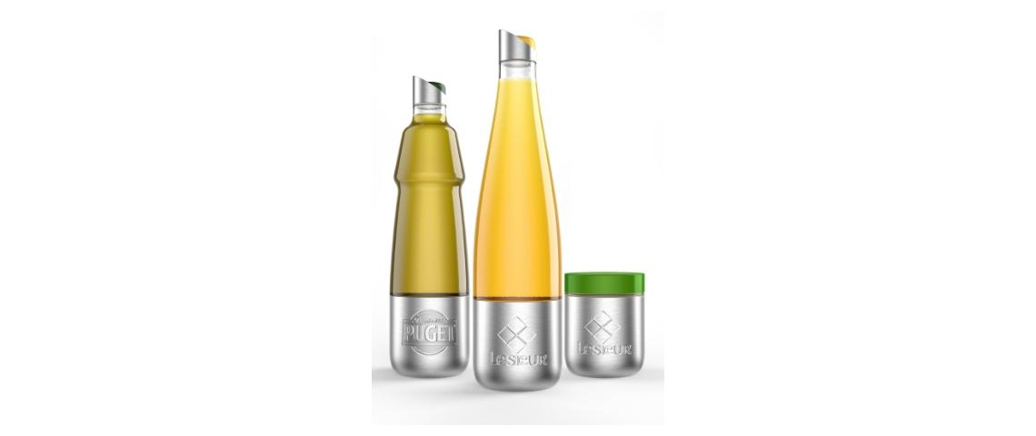 Packaging d'huile Lesieur réutilisables disponibles sur Loop