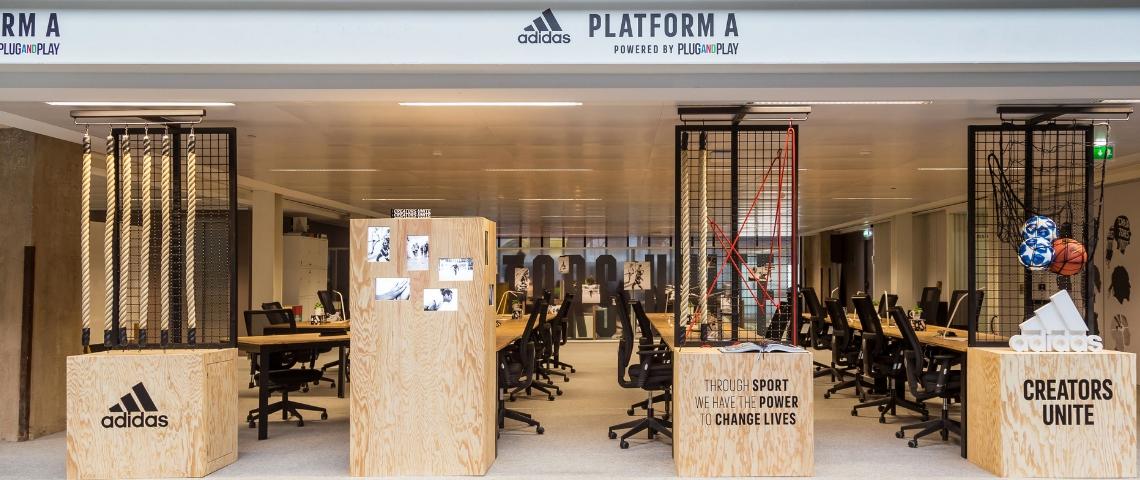 Adidas à Station F