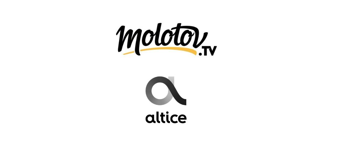 Logos Molotov et Altice