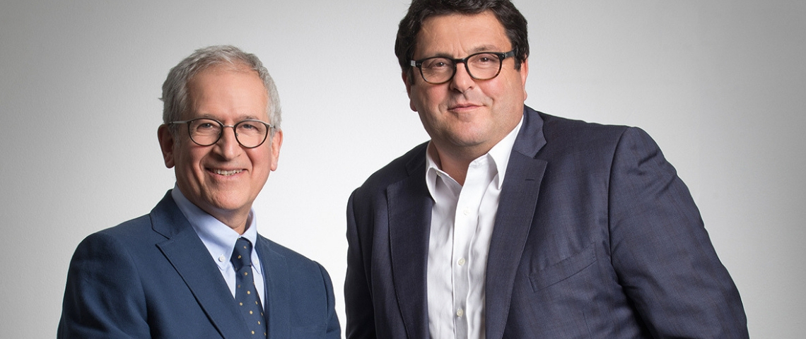 Laurent Habib et Eric Zajdermann