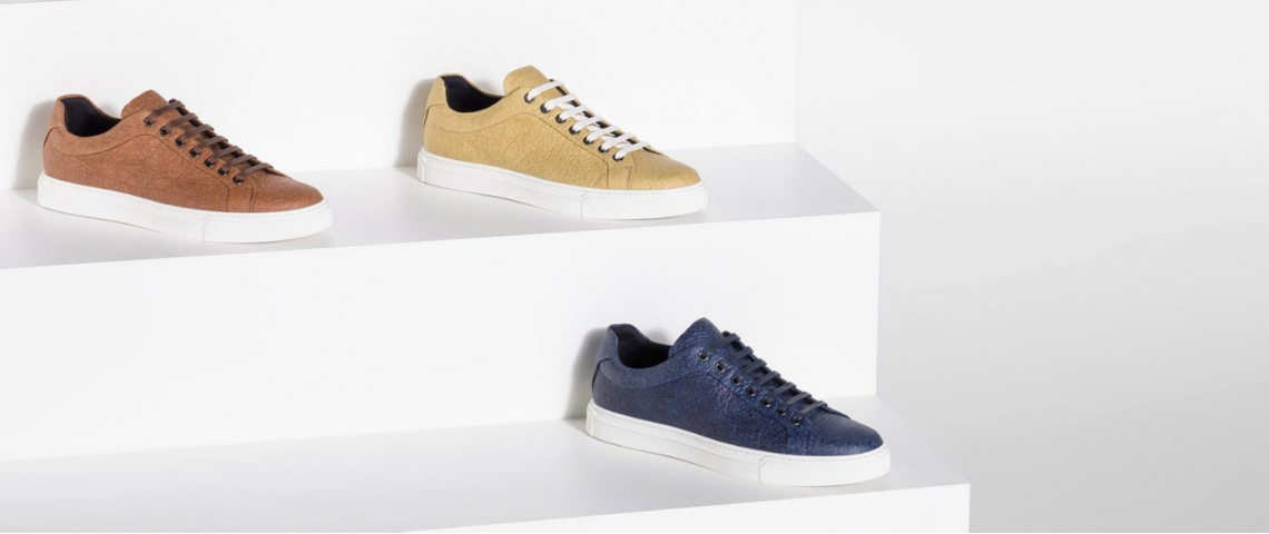 La collection de baskets vegan par Hugo Boss