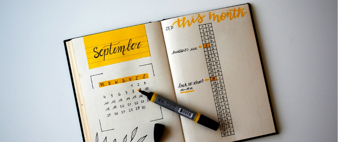 BuJo : exemples de bullet journals inspirants