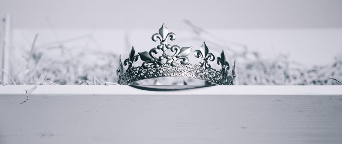 Une couronne de roi ou de reine