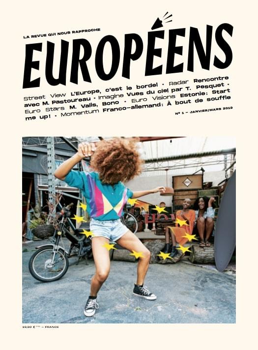 Couverture de la revue Européens