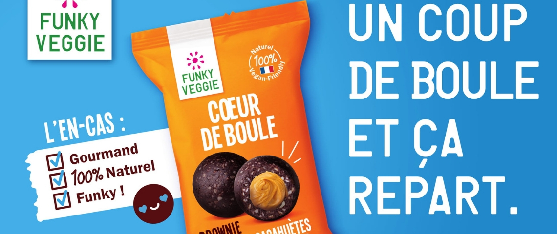 Publicité Funky Veggie