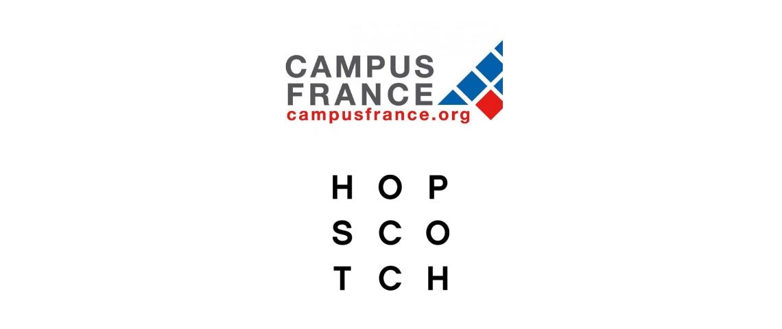 Logos Hopscotch et Campus France