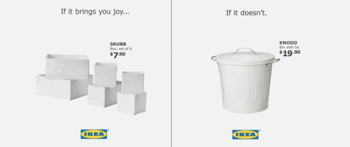Publicité IKEA