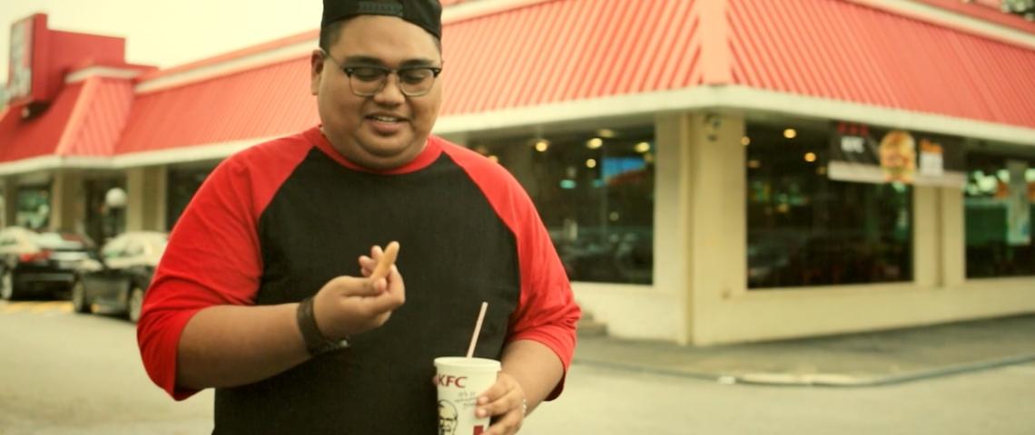 Publicité KFC