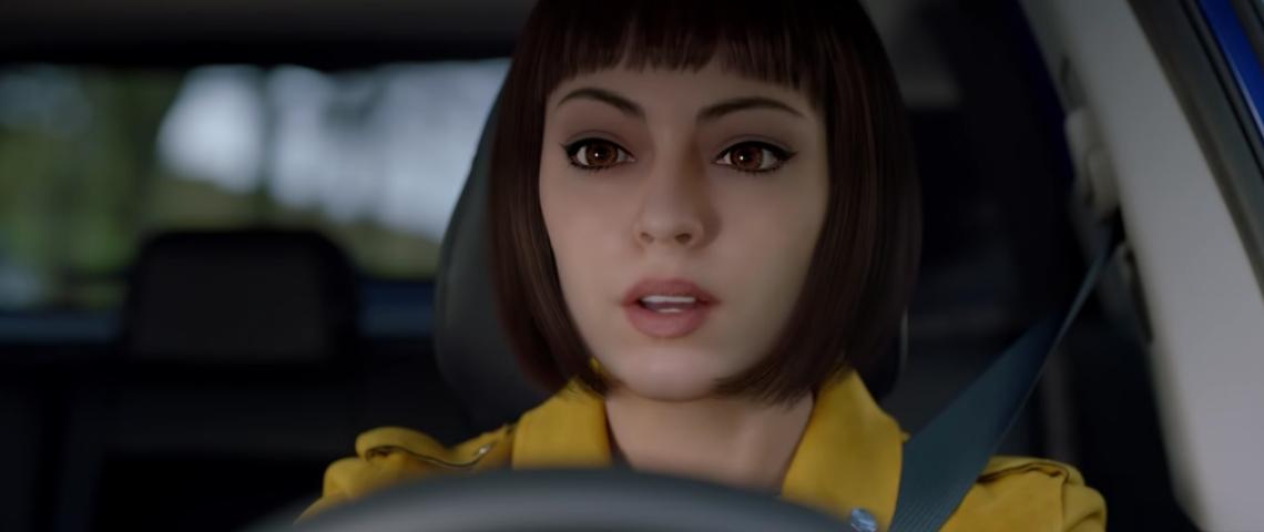 Live, l'ambassadrice virtuelle de Renault