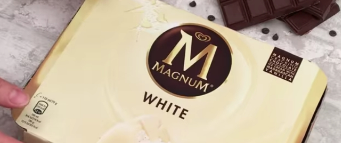 Magnum organise son premier placement de produit européen avec Chefclub