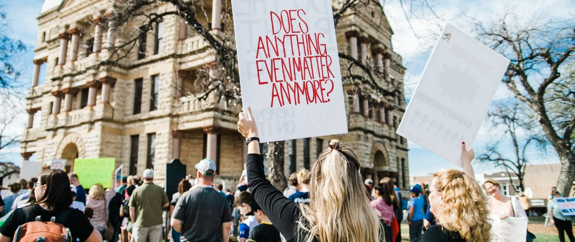 Une manifestation