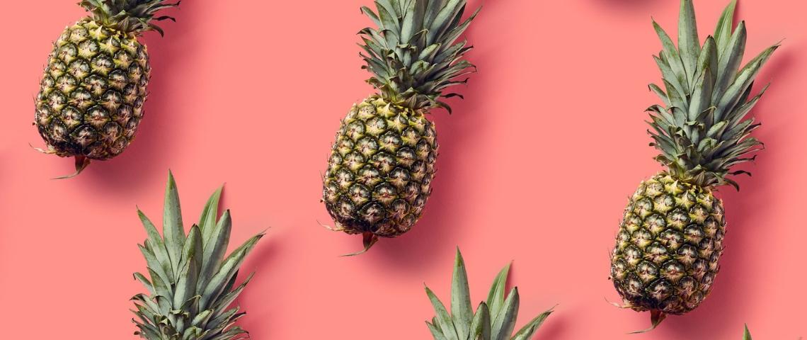 mosaïque d'ananas