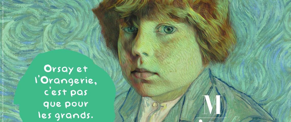 Affiche du musée d'Orsay