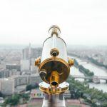 longue vue sur Paris