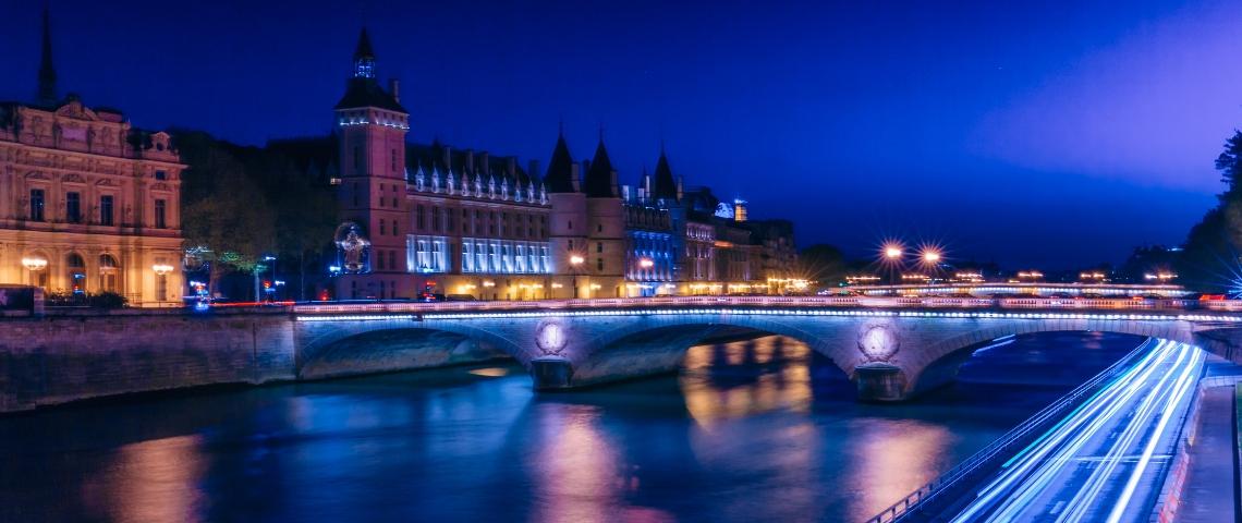 Photo de Paris la nuit