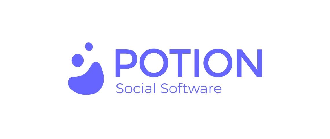 Logo de la start-up Potion Social