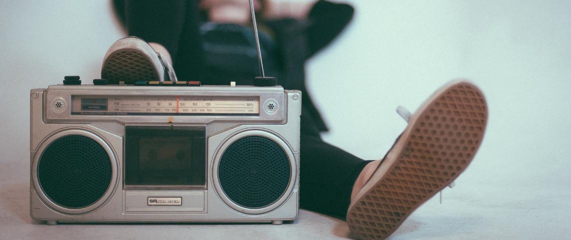 Un vieux poste de radio
