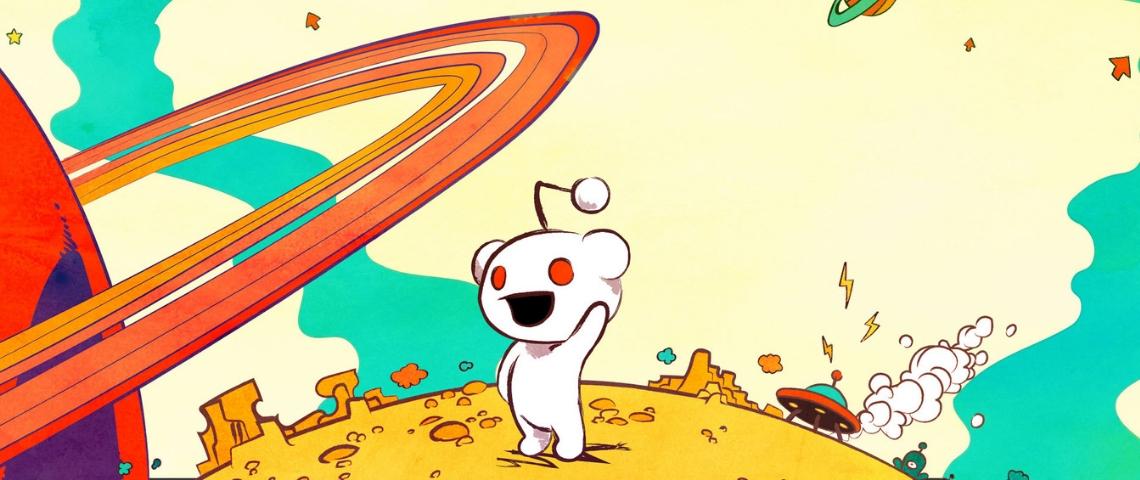 petit robot de reddit sur une planète