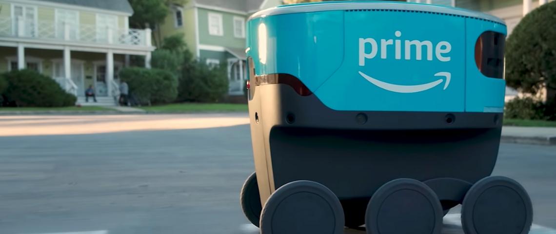 Scout, le robot Amazon