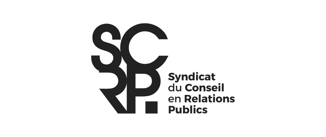 Nouveau logo du SYNDICAT DU CONSEIL EN RELATIONS PUBLICS