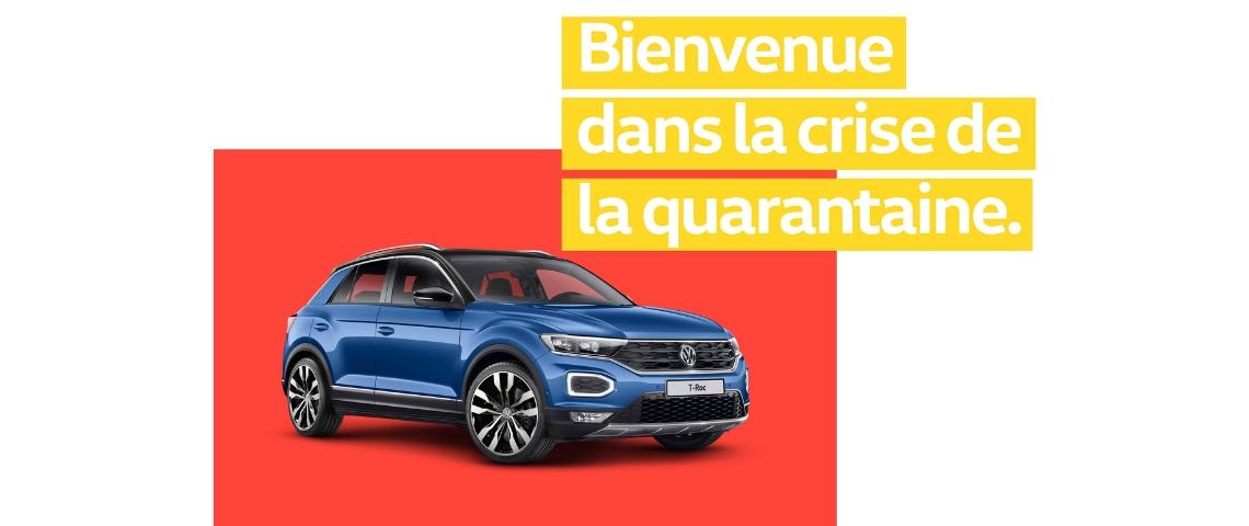 Publicité Volkswagen T-roc