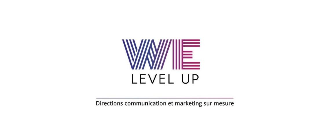 Logo We Level Up