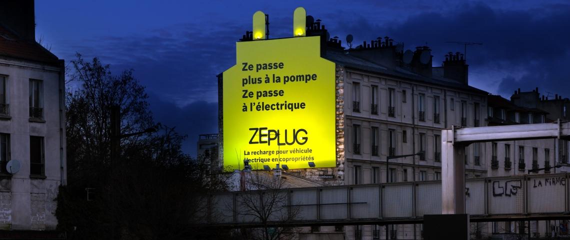 Publicité Zeplug