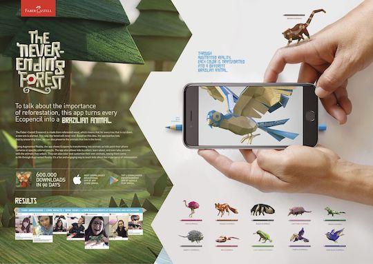 L'application Faber Castell en réalité augmentée