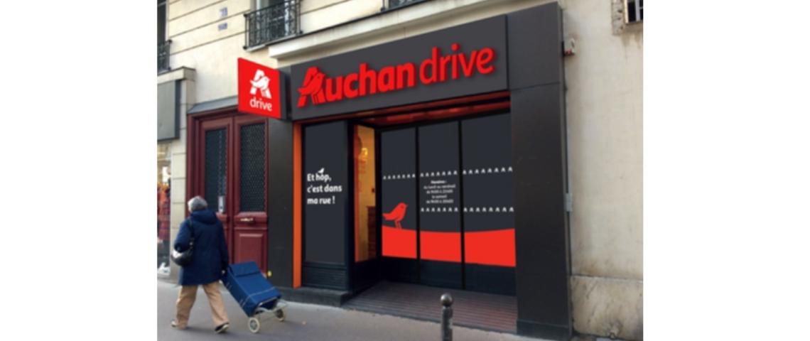 Drive piéton Auchan