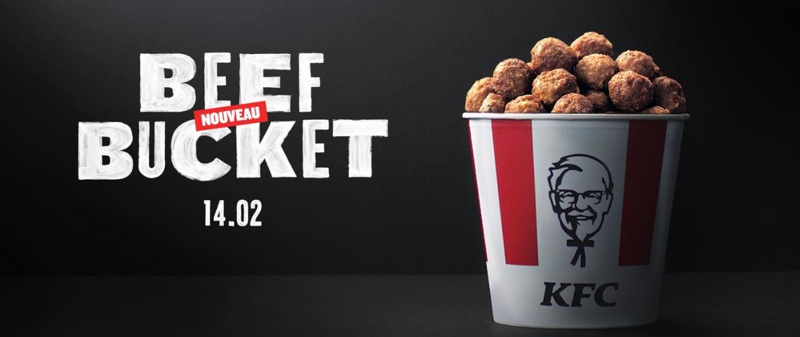 Beef Bucket de KFC