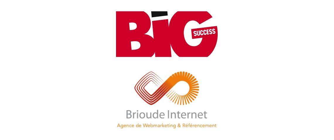 Logos de Big Success et Brioude Internet
