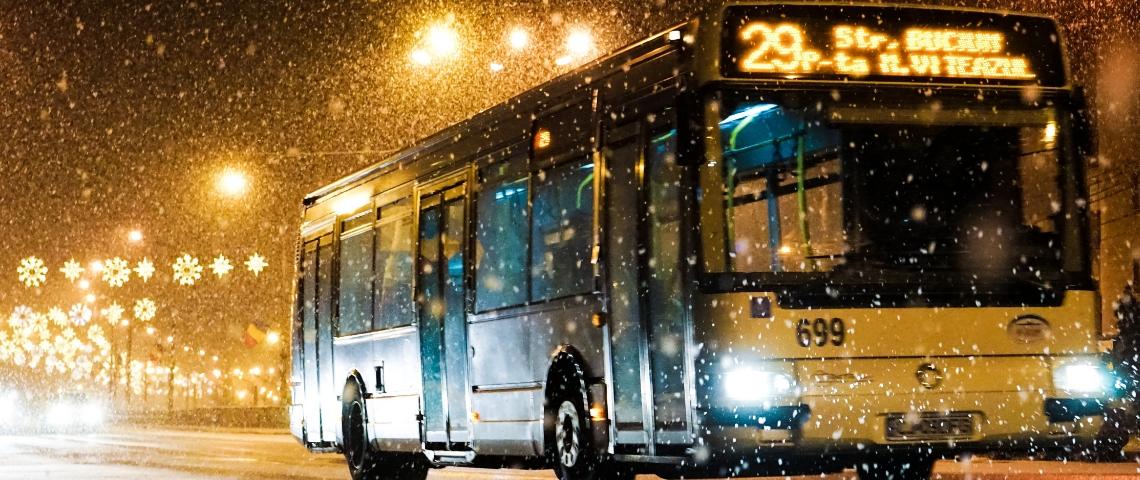 Un bus la nuit