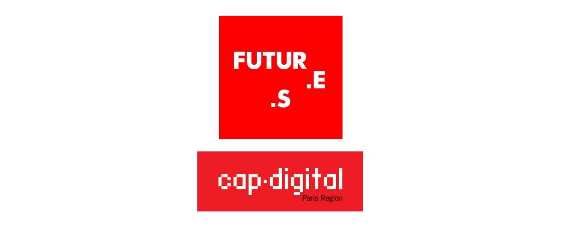 Logos Futur.e.s et Cap Digital