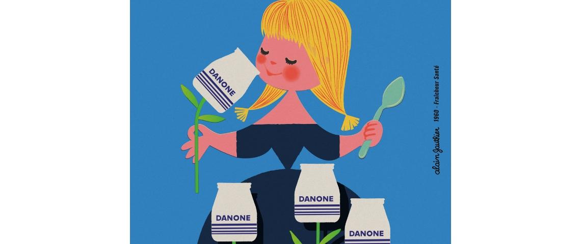 Publicité vintage Danone