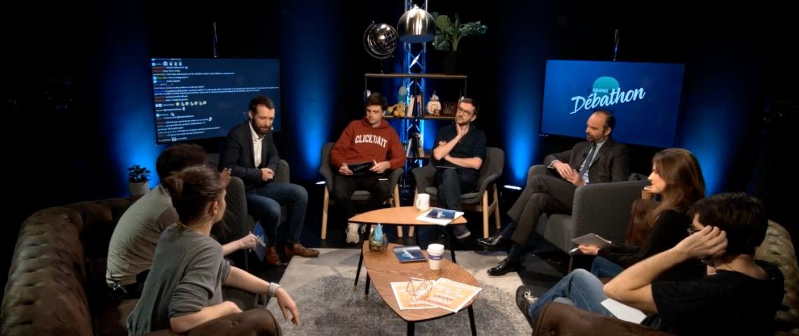 Débathon : après Hanouna, les ministres rencontrent les youtubeurs (et c'est mieux)