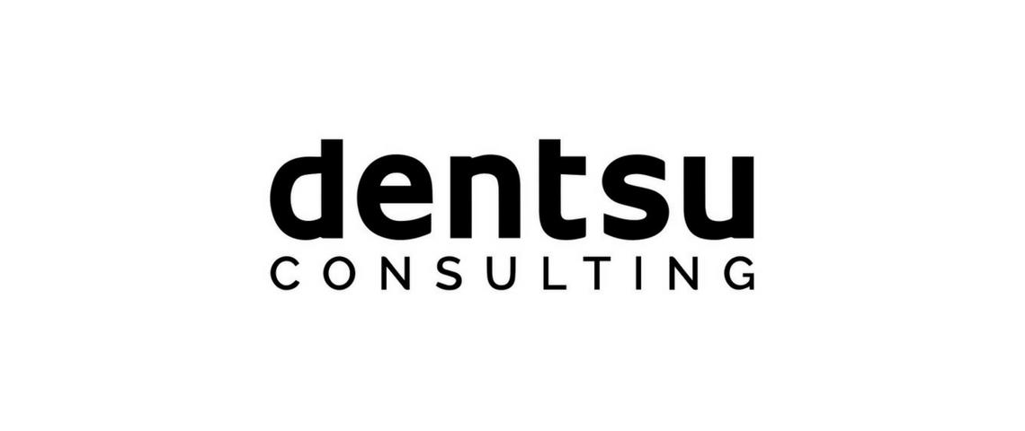 Logo de Dentsu Consulting