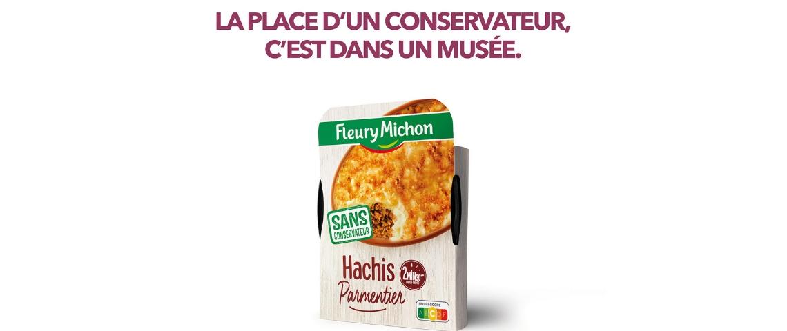 Affiche Fleury-Michon