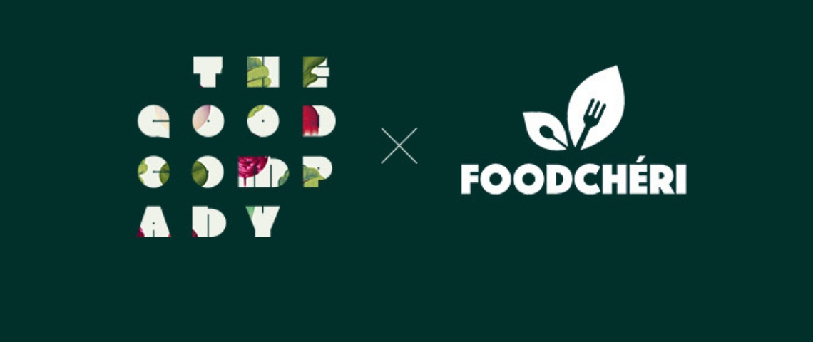 Logos The Good Company et FoodChéri