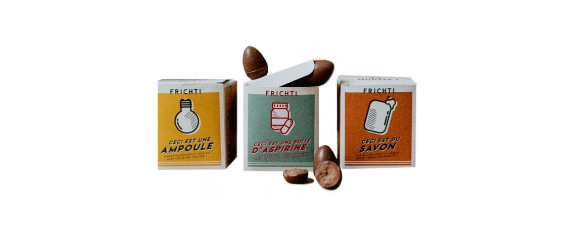 Boîtes de chocolat Frichti