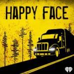un camion sur un fond jaune
