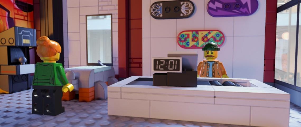 Un magasin en LEGO
