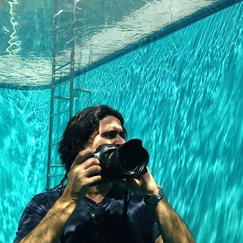 Le photographe Roberto Badin