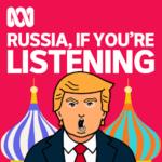 un dessin de Trump devant la place rouge