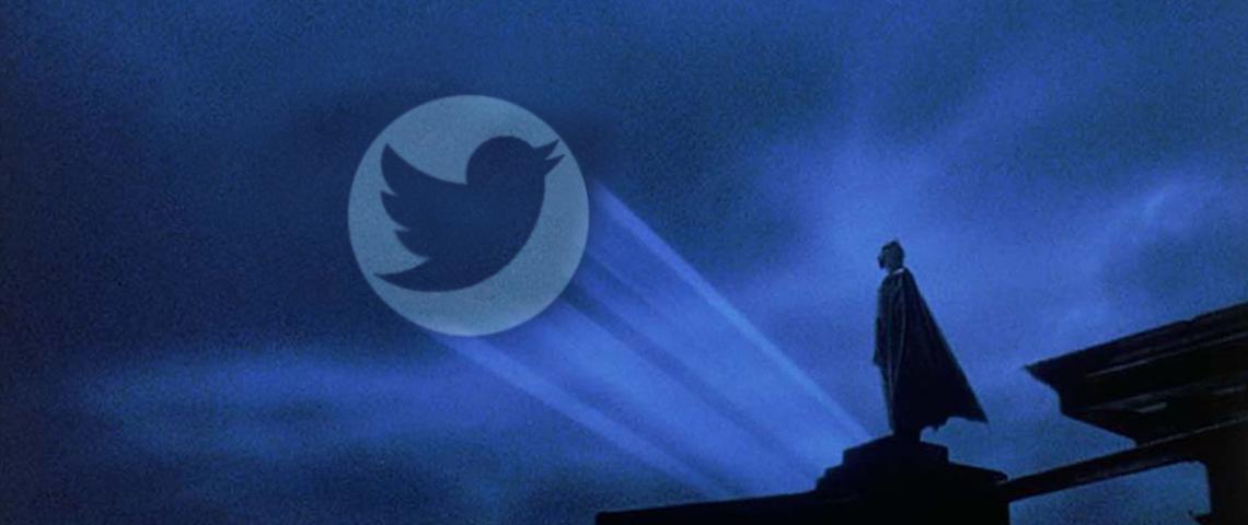Batman signale Twitter