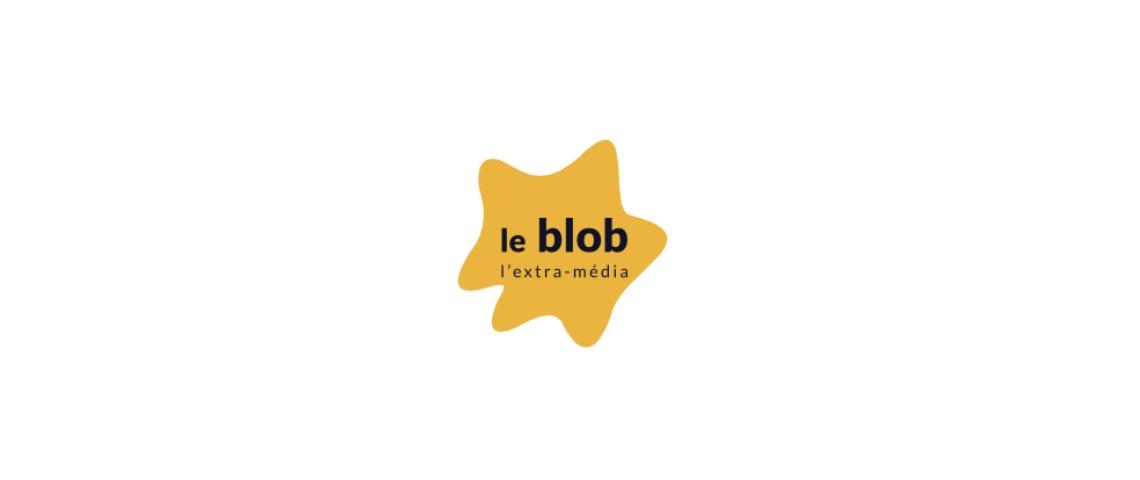 Le Logo de Blob, l'extra-média