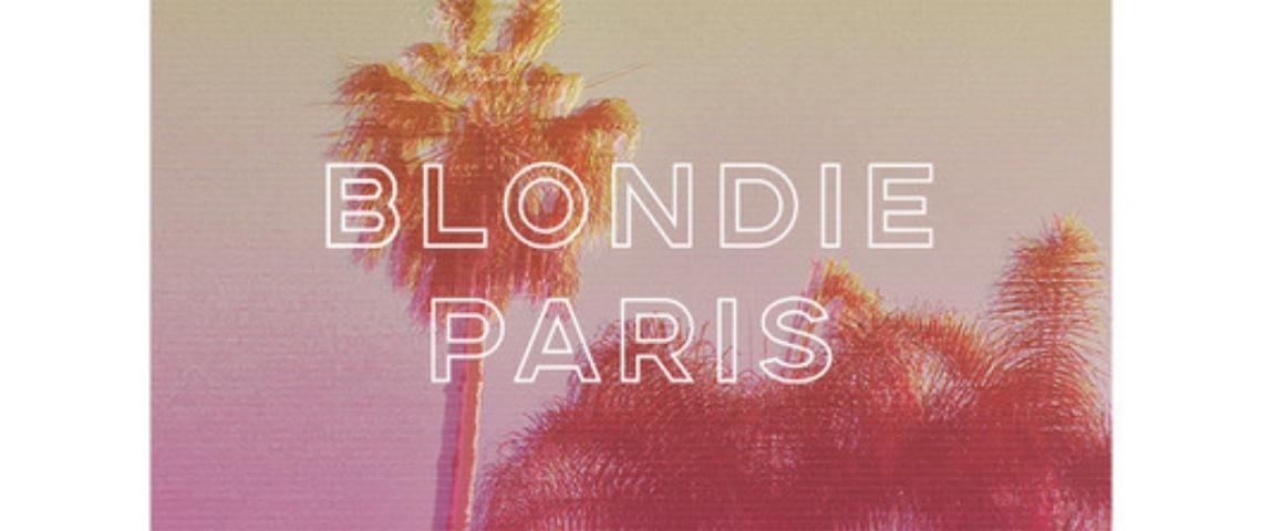 Logo de Blondie Paris