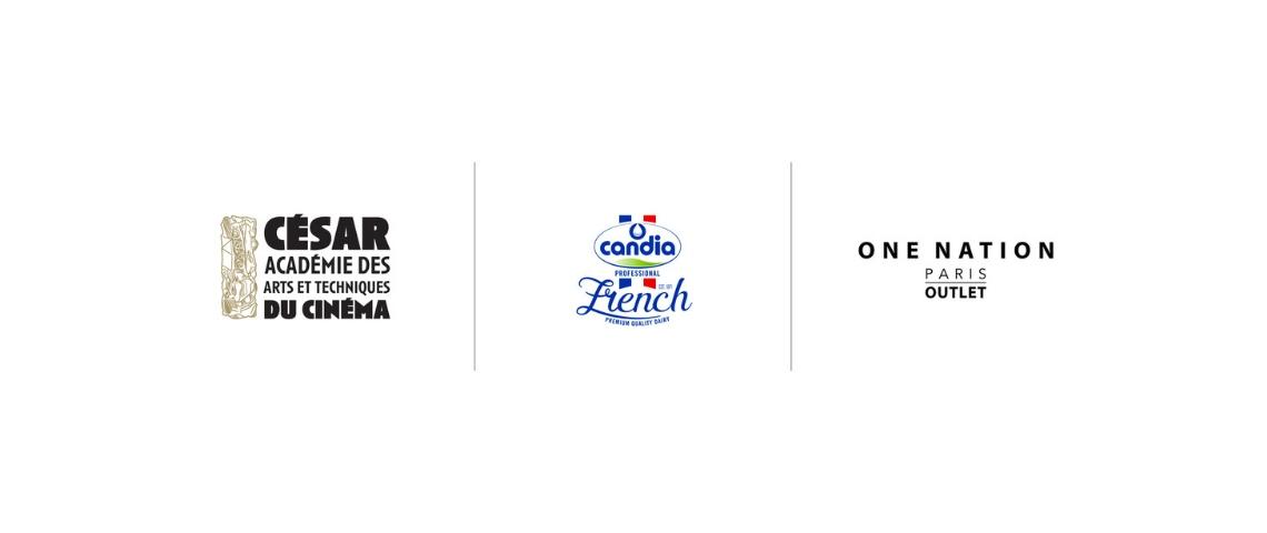 Logo Académie des Césars, Candia et One Nation