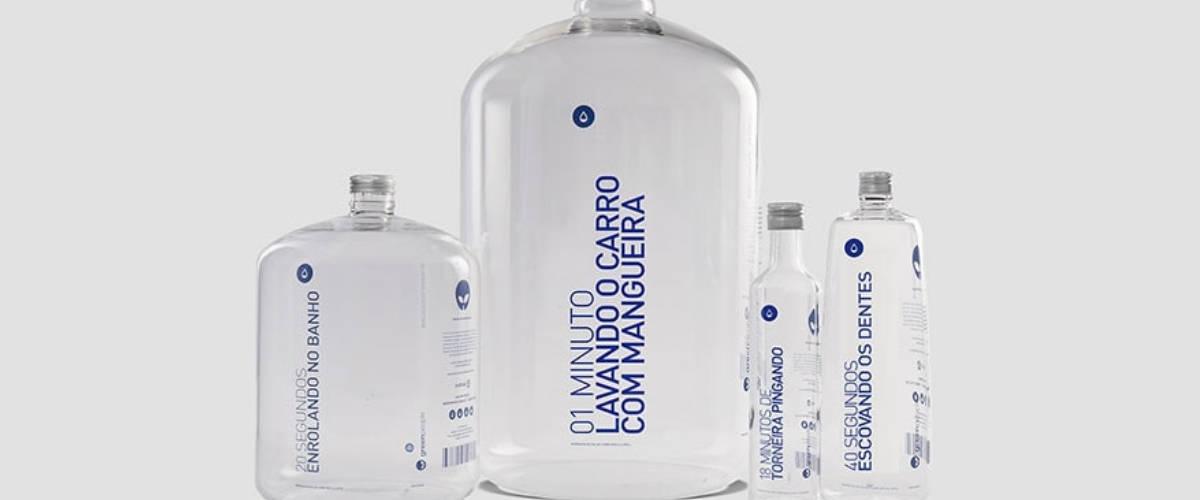 Les bouteilles d'eau de Greenpeople