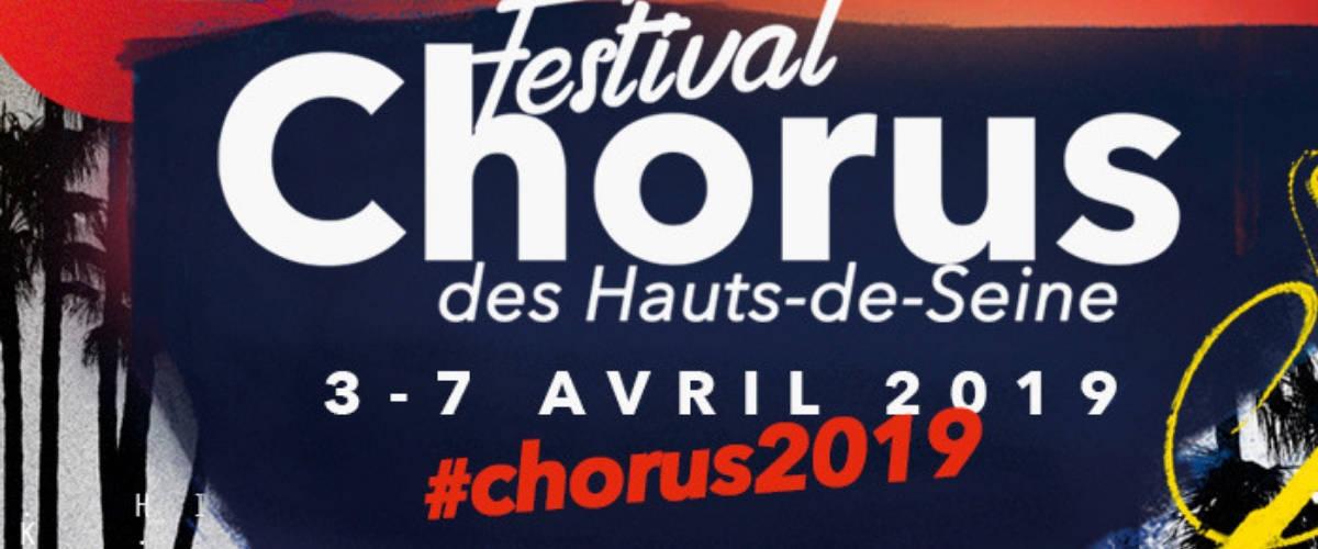 Affiche du Festival Chorus à la Seine Musicale
